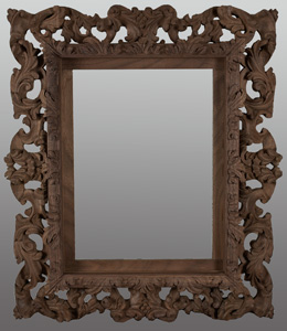 Hand carved picture frames